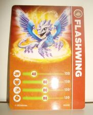 CARTE CARD FIGURINE SKYLANDERS - FLASHWING