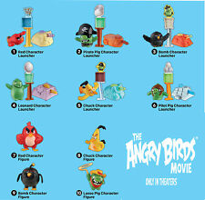 "MCDONALD'S 2016  COLUMBIA  PICTURES  ""ANGRY BIRDS THE MOVIE""  =  # 9  BOMB"