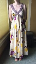 MOULINETTE SOEURS DRESS  VETEMENTS 100% COTTON MULTI COLORED MSRP ^$200 Sz 2 -