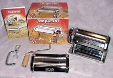 Imperia Ravioli Maker Pasta Machine Attachment  Villaware 6 Settings Fettuccini