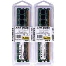 4GB KIT 2 x 2GB HP Compaq Pavilion P6240be P6240d P6240f P6240in Ram Memory