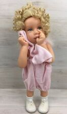 Master Piece Porcelain Girl Doll Limited Edition Sissy COA by Pamela Erff