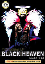 The Legend of Black Heaven (TV 1 - 13 End) DVD - Eng Dubbed + EXTRA DVD