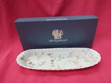 WEDGWOOD  Boxed Fluted Oblong Tray CAMPION