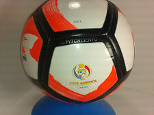 Nike Pitch Ciento Copa America Soccer Ball Whtie/Total/ Black Size 5 /SC2903 134