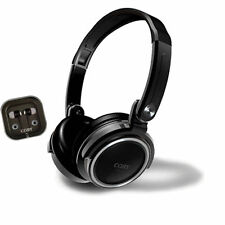 Coby CV-H800BK 2 in 1 Jammerz Xtra Headphone /Earbuds CVH800 Black