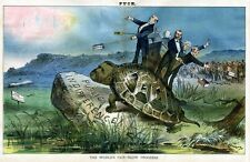 WORLDS FAIR GENERAL GRANT TURTLE SLOW PROGRESS MONEY WANTED PUBLIC INDIFFERENCE