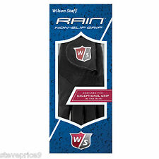 A PAIR OF WILSON MENS RAIN GOLF GLOVES. SIZE MEDIUM LARGE.