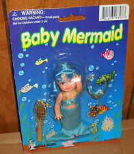 "#1409 NOC Good Old Values Baby Mermaid 4"" Doll"