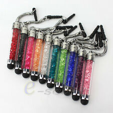 10 Anti Dust Stylus Bling Touch Screen Pen For iPod/iPad iPhone 4S 5G Smartphone
