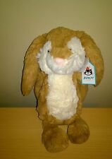 Jellycat Medium  Bashful Wriggle Bunny Rabbit Soft Toy Collectable BNWT