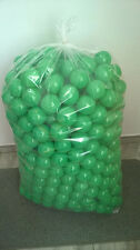 500 BRAND NEW SOFT PLAY BALLS -BALL PIT, POOL , COMMERCIAL GRADE CE - GREEN