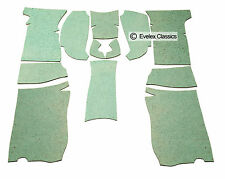 CLASSIC TRIUMPH SPITFIRE Carpet Felt Kit  Sound Proofing FROM 1962 TO 1980