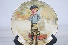 Extra Extra by Lee Dubin From The Lil' Peddlers Decorative Collector Plate EXc