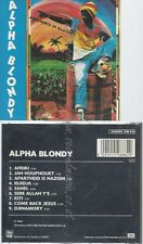 CD--ALPHA BLONDY -- -- APARTHEID IS NAZISM