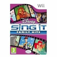 Disney sing it: family hits (Nintendo Wii, 2010)