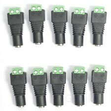 10 pcs DC Power Female Jack 2.1 x 5.5 mm Socket Plug Connector Adapter Terminal