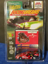Johnny Lightning Racing Dreams Red Universal Jurassic Park Funny Car