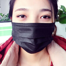 20pcs Disposable Face Mask Mouth Dustproof Non-woven 3-layer Filter Surgical