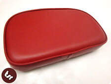 VESPA/LAMBRETTA TSR Rear Rack Back Rest Pad OxBlood Red