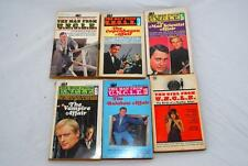 Man from UNCLE/Girl from UNCLE 6 LOT paperbacks