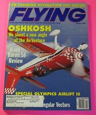 FLYING MAGAZINE OCT/1999...USED BARON 58 REVIEW...OSHKOSH: WE SHOOT A NEW ANGLE