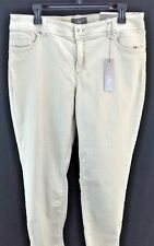 WOMENS CHICOS SO SLIMMING JEANS ZIP ANKLE SIZE 2 SAND NWT $99