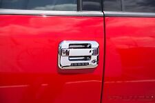 Chrome Door Handle Covers Ford F150 04-2014 & SVT Raptor 10-14 4 Dr w/Key Pad