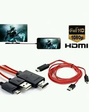 2m Micro USB MHL to HDMI 1080P TV HD Adapter Cable For Samsun S3 S4 S5 Note 2/3