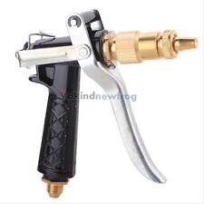NEW Garden Water Watering Hose High Pressure Spray Gun Pistol Nozzle Brass Hose