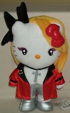 "Hello Kitty X-Japan Yoshiki Yoshikitty Red 12.2"" 31cm Plush Doll Sanrio 2009 NWT"