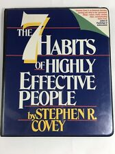 The Seven Habits Of Highly Effective People Stephen Covey 6  Cassette Tape Set