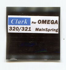 "Omega 320 321 Mainspring for Omega ""CLARK"""