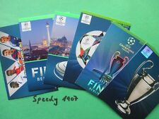 Champions League 2015 UPDATE all 6 Berlin Karten Trophy Ball Panini Adrenalyn 15