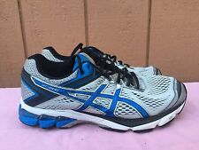 EUC Asics GT1000 4 T5A4N Men's Athletic Running Sneakers Shoes Blue US 8.5 4E