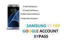 SAMSUNG GALAXY S7 / S7 EDGE G935F G930F  GOOGLE ACCOUNT REMOVAL SERVICE fast