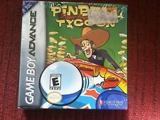 Game boy Advance game NEW IN BOX Pinball Tycoon Trigger Finger Challenge GBA NIB