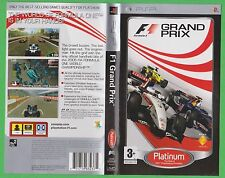 F1 Grand Prix   -  PSP Game Disc + Manual.  (P719)