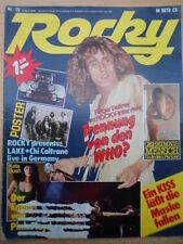 ROCKY 15- 6.4. 1978 (2) Roger Daltrey Lake Kate Bush Cher David Bowie Paul Simon