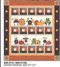 MONSTER MADNESS FOR HALLOWEEN Moda BUNNY HILL QUILT PATTERN Spooky Delights
