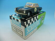 Scalextric Spanish G T Mercedes 250sl C32 in Black Rare car