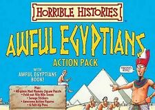The Awful Egyptians Activity Pack (Horrible Histories Action Packs), Deary, Terr