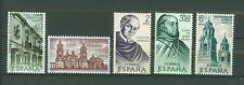 SPAIN ESPAÑA 1970 MNH SC.1630/34 New World,exploration of Mexico