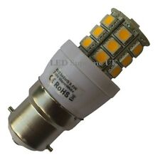 B22 24 SMD LED 350LM 3.8W Dimmable Warm White Bulb ~50W