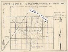 1931 PECOS NEW WEST TEXAS BOOMING OIL FIELD RM Reed PROSPECTIVE LANDS letterhead