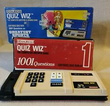 Coleco Quiz Whiz Computer Question & Answer Game with Extra Question Boxes