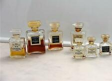 COCO CHANEL N° 5 EDP EAU DE PARFUM AND PARFUM MINIATURE BOTTLES LOT
