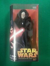 "Star Wars Revenge of the Sith Darth Sidious 12"" Action Figure Toy Hasbro"