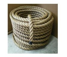 "1-1/2"" Nautical  MANILA ROPE CUT TO LENGTH Boat Dock FITNESS EXERCISE UNDULATION"
