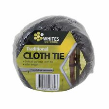 Whites Outdoor TRADITIONAL CLOTH PLANT TIE 40m Soft,Easy To Use Australian Brand